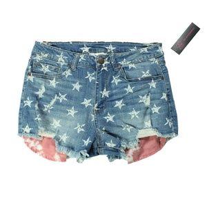 Shorts Size 11 Patriotic Theme Women  No Boundarie